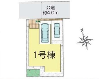 【区画図】新築戸建て さいたま市桜区栄和5丁目