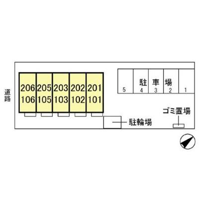 【区画図】D-Room KASUGA
