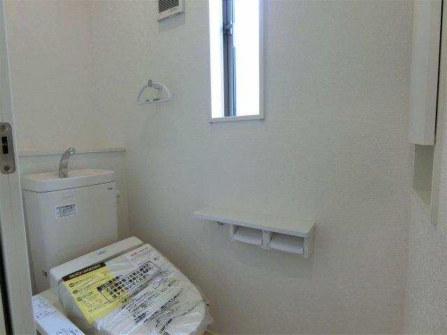 トイレは1,2階両方にあります。2か所あると助かります。夜間のトイレも安心です。