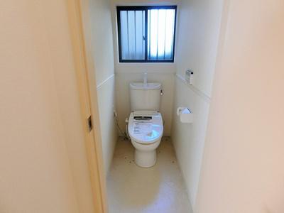 【トイレ】中三国ヶ丘町貸家