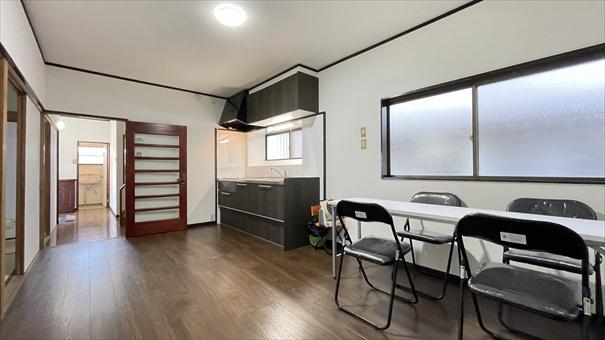 LDKは隣りの和室とつなげて広く使ってもOK ライフスタイルに合わせて自由に使えます