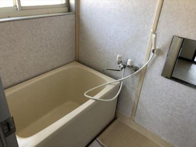 浴室は2階にあります!