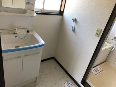 洗面所も2階にあります!