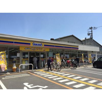 コンビニ「ミニストップ川口上青木店まで312m」