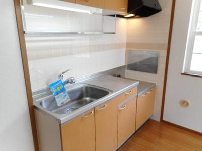 【キッチン】メゾンマルベリーA棟