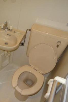 【トイレ】クレールメゾン代々木上原B
