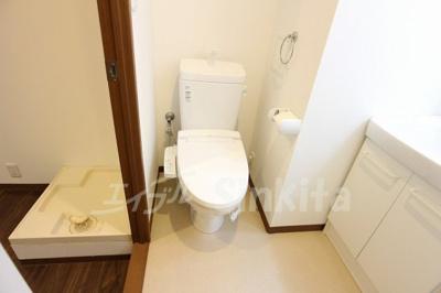 【トイレ】プリエール新大阪イースト