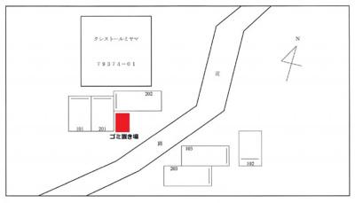 【区画図】クレストールミヤマ