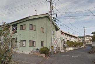 【外観】《鉄骨造16.56%》岡山県笠岡市旭が丘一棟マンション