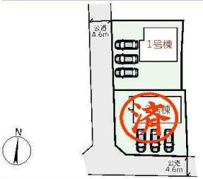 【区画図】リーブルガーデンS奈良市若葉台4丁目