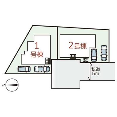【区画図】リーブルガーデンS橿原市光陽町2期