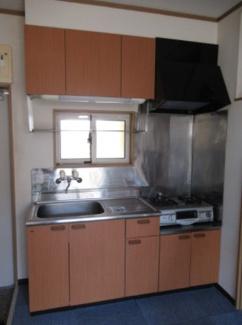 【キッチン】新潟市西区五十嵐1の町一棟アパート