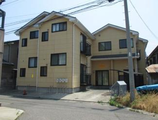 【外観】新潟市西区五十嵐1の町一棟アパート