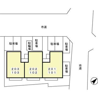 【区画図】サニーヒル