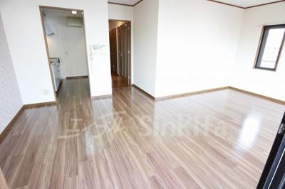 【居間・リビング】淀川ハイライフマンション
