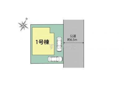【区画図】ブルーミングガーデン木津川市木津宮ノ裏2期
