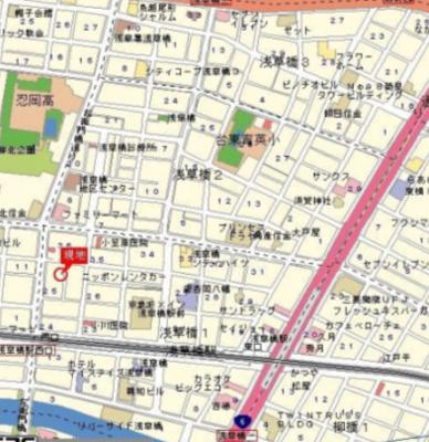 【地図】シティコープ浅草橋90