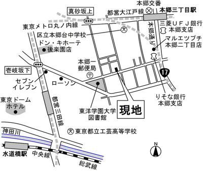 【地図】メゾンドR・K