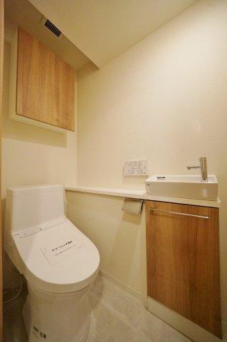 手洗い場付きのトイレスペース