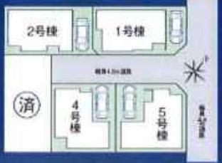 【区画図】ファーストタウン西宮市第16浜甲子園