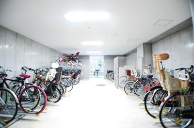 ジオ新町 駐輪場