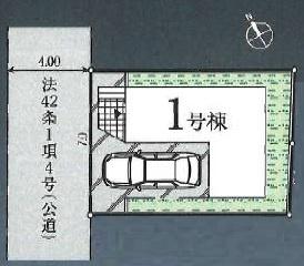 【区画図】入間市下藤沢・全1棟 新築一戸建 ~駅徒歩13分~