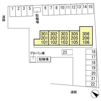 【区画図】駒形町 駒形駅 2階 1LDK