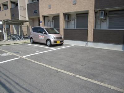 【駐車場】フジパレスハマデラノースゴバンカン