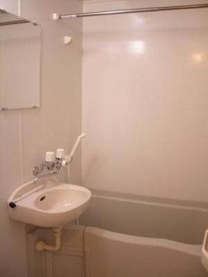 【浴室】レオパレス向が丘Ⅱ