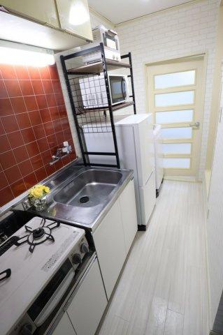 キッチン収納スペースもたっぷり◎