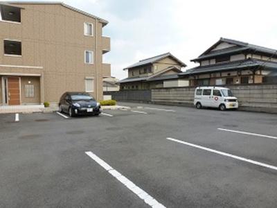 【駐車場】韮川駅 植木野町 1LDK