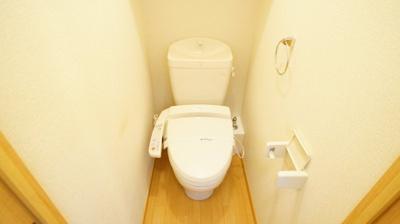 うれしいシャワートイレ♪