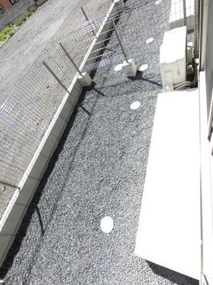 【バルコニー】韮川駅 東新町 1R