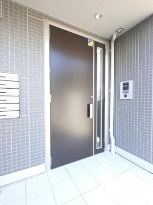 【玄関】韮川駅 石原町 1R