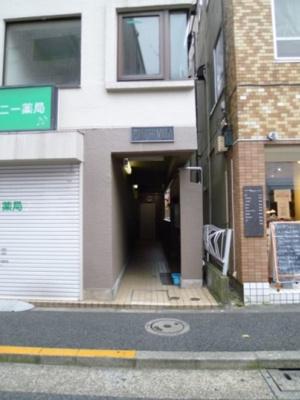 【エントランス】戸越パークヴィラ