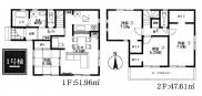 平塚市南原4丁目 新築戸建て 全8棟 【仲介手数料無料】の画像