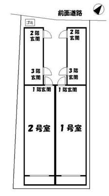【区画図】エバーグレースⅡ