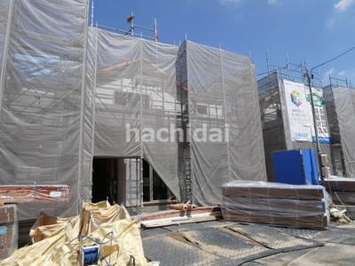 碧南市長田町新築分譲住宅B号棟写真です。2021年9月撮影
