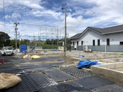 碧南市長田町新築分譲住宅B号棟写真です。2021年8月撮影