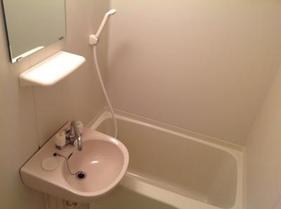 【浴室】レオパレスさくらⅡ