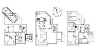 3LDK、建物面積111.17m2、建物価格2000万円
