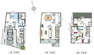 建物参考プラン(建物面積111.57平米・建物価格2780万円)