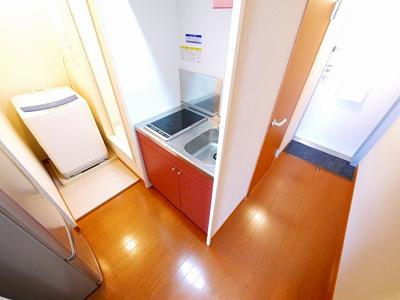 【キッチン】レオパレスgrow