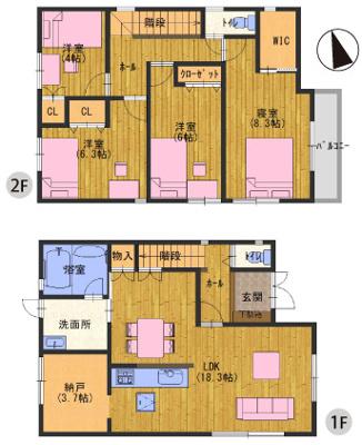 神戸市北区北五葉2丁目 新築一戸建て
