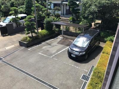 【駐車場】ソレアード向ヶ丘駐車場