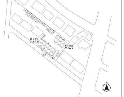 【区画図】第5富士ハイム