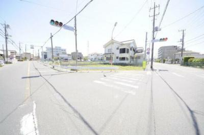 【前面道路含む現地写真】入間市扇町屋5丁目