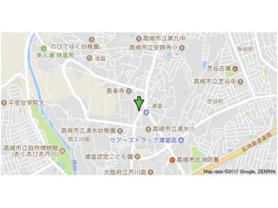 【地図】第5マーブルハイツ