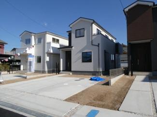 高浜市呉竹町2期新築分譲住宅3号棟写真です。2021年9月撮影