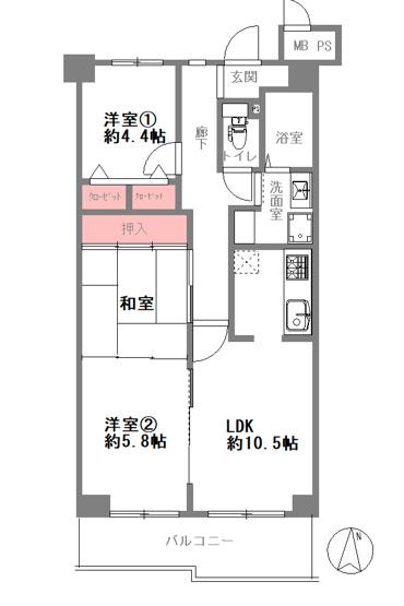 【3LDK】室内リフォーム済み☆システムキッチン・ユニットバス・給湯器も新調☆レースカーテン・照明付き☆安心の設備保証付きです☆